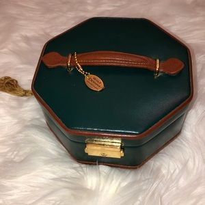Wolfe Designs Leather Jewelry Travel Case